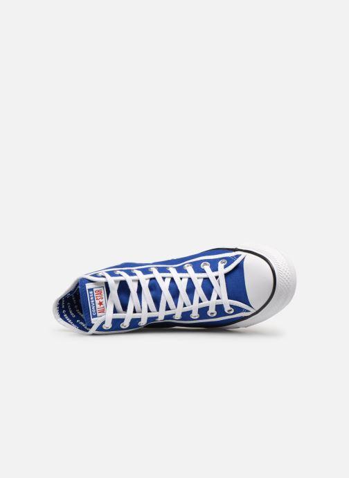 Sneakers Converse Chuck Taylor All Star Gamer Hi Blå bild från vänster sidan