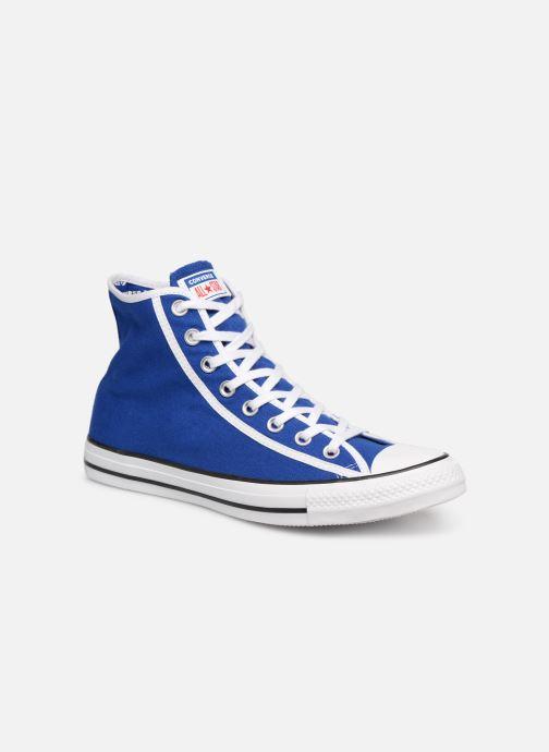 Sneakers Converse Chuck Taylor All Star Gamer Hi Blå detaljerad bild på paret