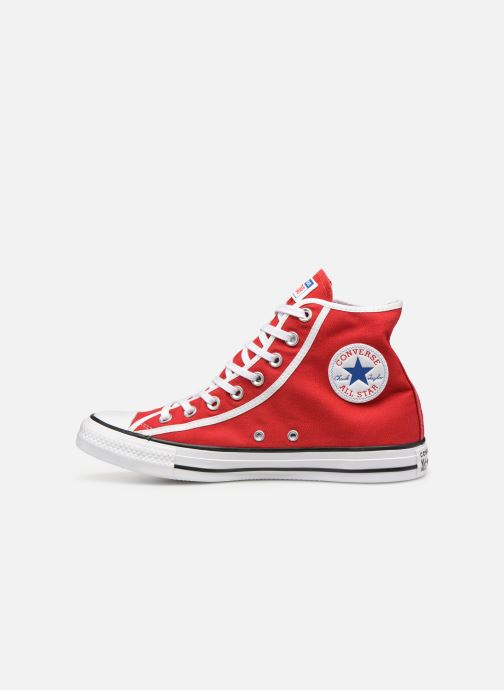 Baskets Converse Chuck Taylor All Star Gamer Hi Rouge vue face