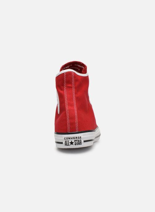 Sneakers Converse Chuck Taylor All Star Gamer Hi Röd Bild från höger sidan