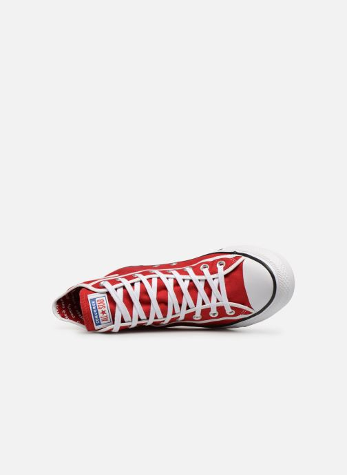 Sneakers Converse Chuck Taylor All Star Gamer Hi Röd bild från vänster sidan