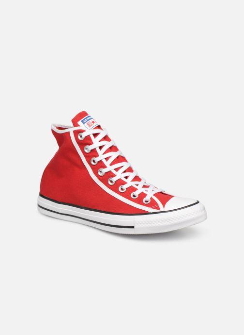Sneakers Converse Chuck Taylor All Star Gamer Hi Röd detaljerad bild på paret