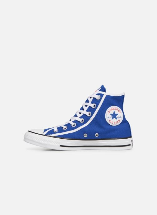 Baskets Converse Chuck Taylor All Star Gamer Hi W Bleu vue face