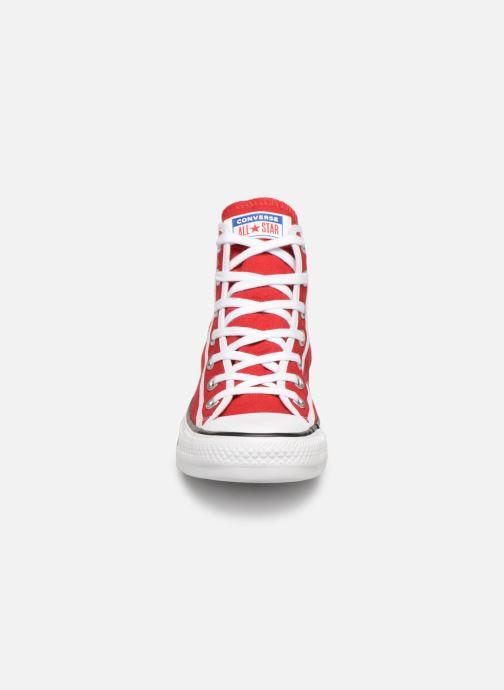 Sneaker Converse Chuck Taylor All Star Gamer Hi W rot schuhe getragen