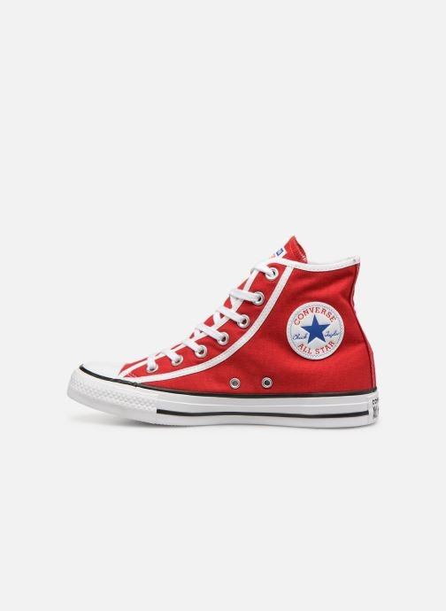Baskets Converse Chuck Taylor All Star Gamer Hi W Rouge vue face