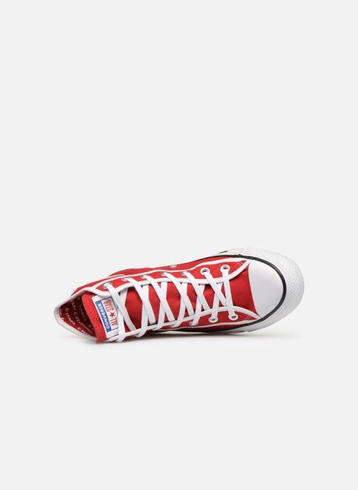 Sneaker Converse Chuck Taylor All Star Gamer Hi W rot ansicht von links