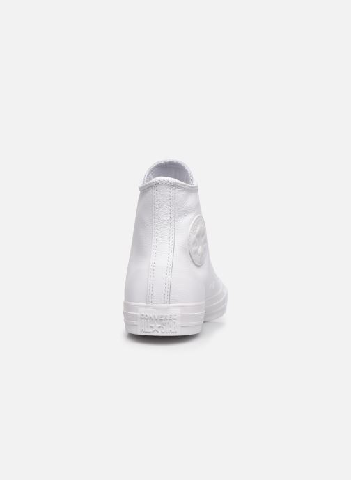 Sneaker Converse Chuck Taylor All Star  Hi W weiß ansicht von rechts