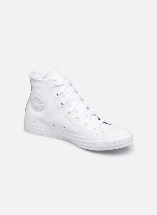 Baskets Converse Chuck Taylor All Star  Hi W Blanc vue détail/paire