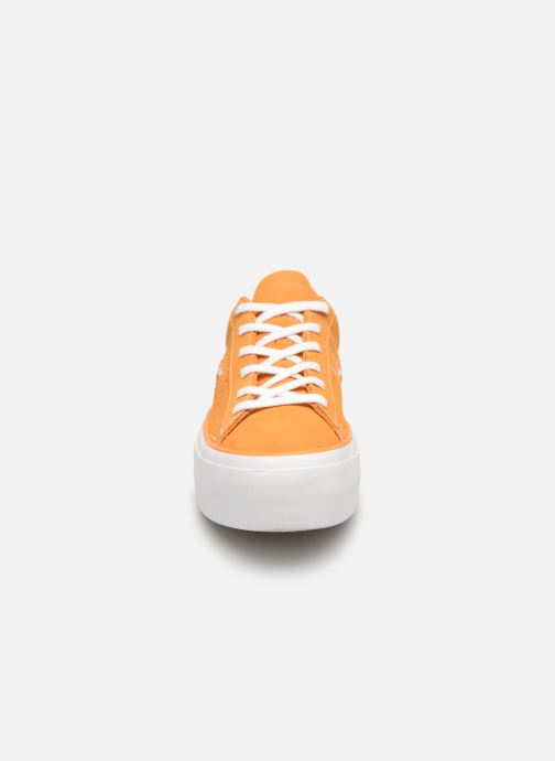 Trainers Converse One Star Platform Lift Me Up Ox Orange model view