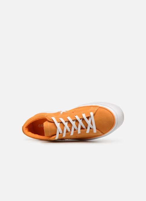 Trainers Converse One Star Platform Lift Me Up Ox Orange view from the left