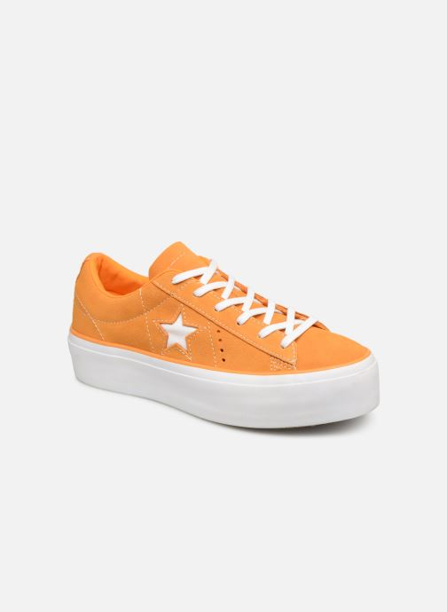 Trainers Converse One Star Platform Lift Me Up Ox Orange detailed view/ Pair view