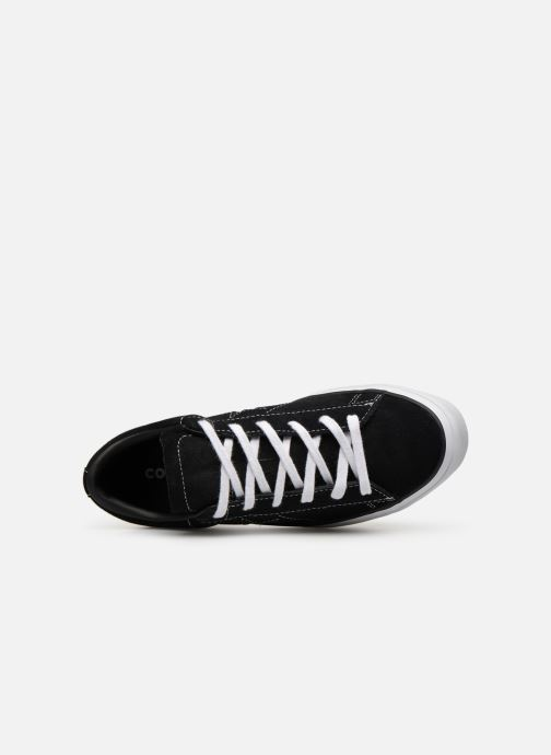 Trainers Converse One Star Platform Lift Me Up Ox Black view from the left