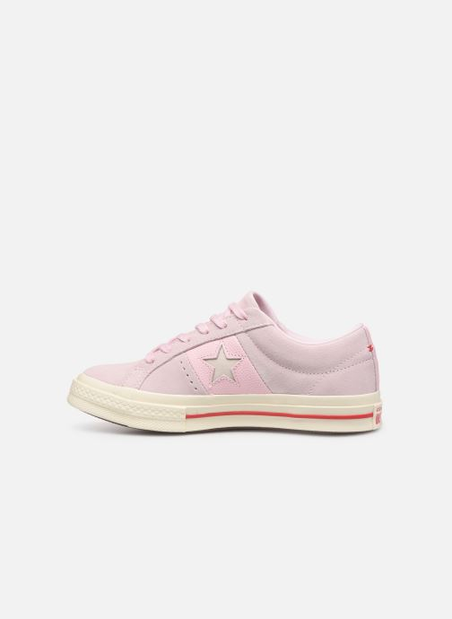 Baskets Converse One Star Fashion Baller Ox Rose vue face