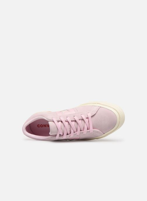 Trainers Converse One Star Fashion Baller Ox Pink view from the left