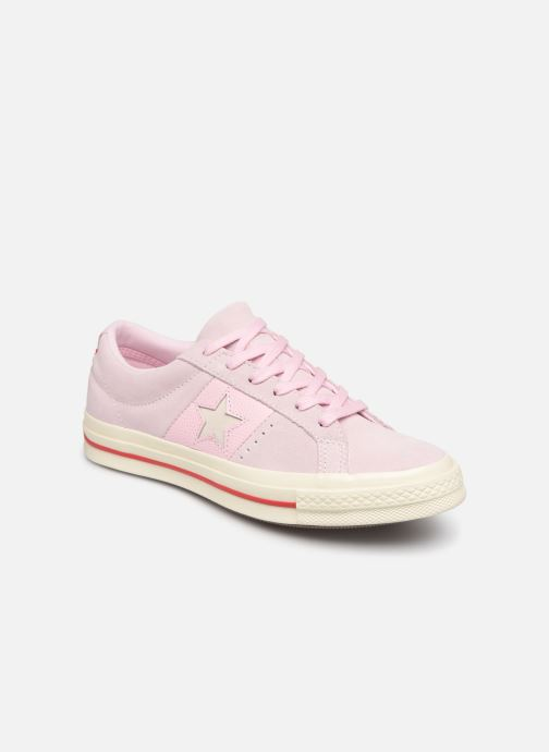 Trainers Converse One Star Fashion Baller Ox Pink detailed view  Pair view b7df4c72a
