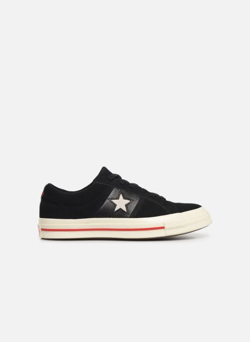 Sneakers Converse One Star Fashion Baller Ox Zwart achterkant