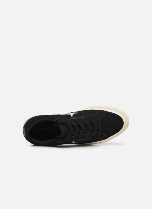 Trainers Converse One Star Fashion Baller Ox Black view from the left
