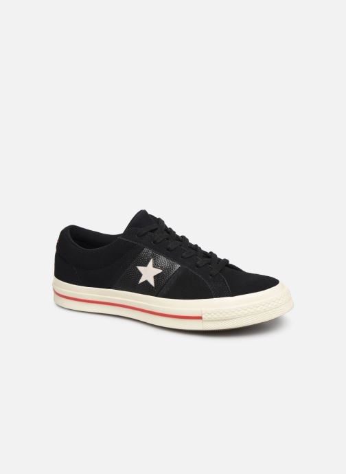 Trainers Converse One Star Fashion Baller Ox Black detailed view/ Pair view