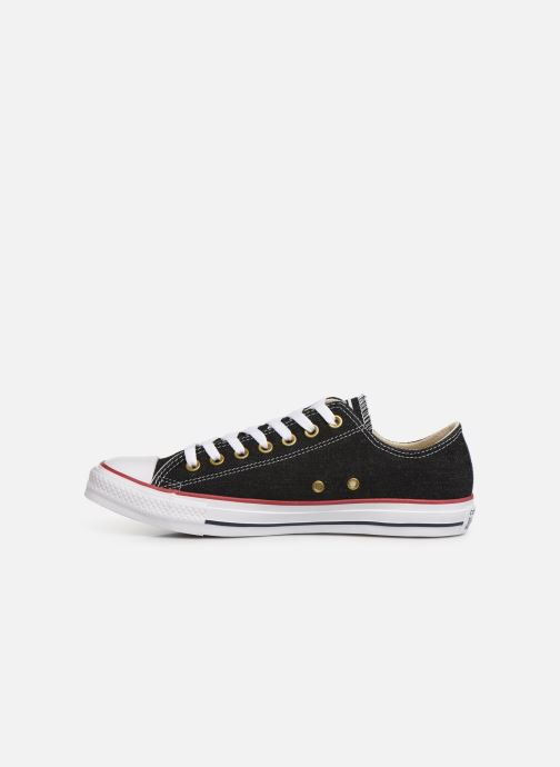 Sneakers Converse Chuck Taylor All Star Worn In Ox Zwart voorkant