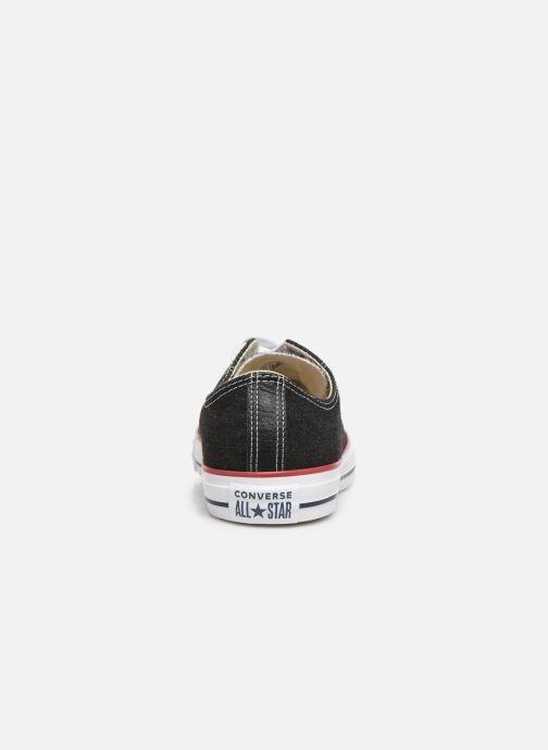 Sneakers Converse Chuck Taylor All Star Worn In Ox Zwart rechts
