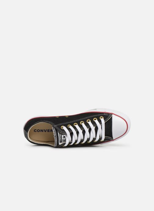 Trainers Converse Chuck Taylor All Star Worn In Ox Black view from the left