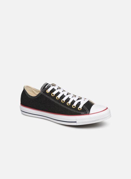 Sneakers Converse Chuck Taylor All Star Worn In Ox Svart detaljerad bild på paret