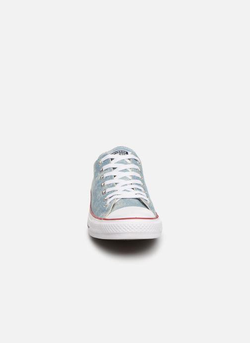 Baskets Converse Chuck Taylor All Star Worn In Ox Bleu vue portées chaussures