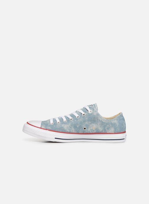 Sneaker Converse Chuck Taylor All Star Worn In Ox blau ansicht von vorne