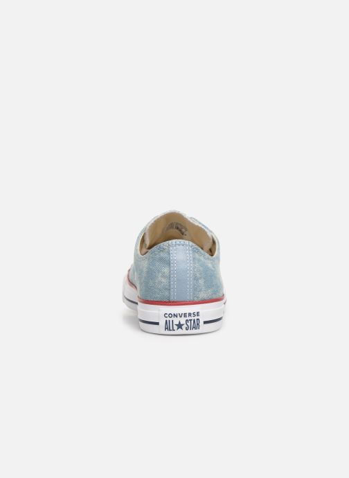 Sneakers Converse Chuck Taylor All Star Worn In Ox Blauw rechts
