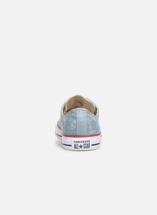 Sneaker Converse Chuck Taylor All Star Worn In Ox blau ansicht von rechts
