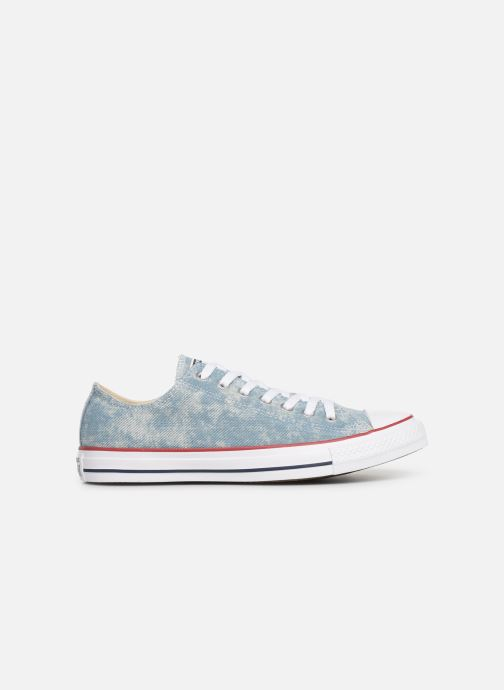 Sneakers Converse Chuck Taylor All Star Worn In Ox Blauw achterkant