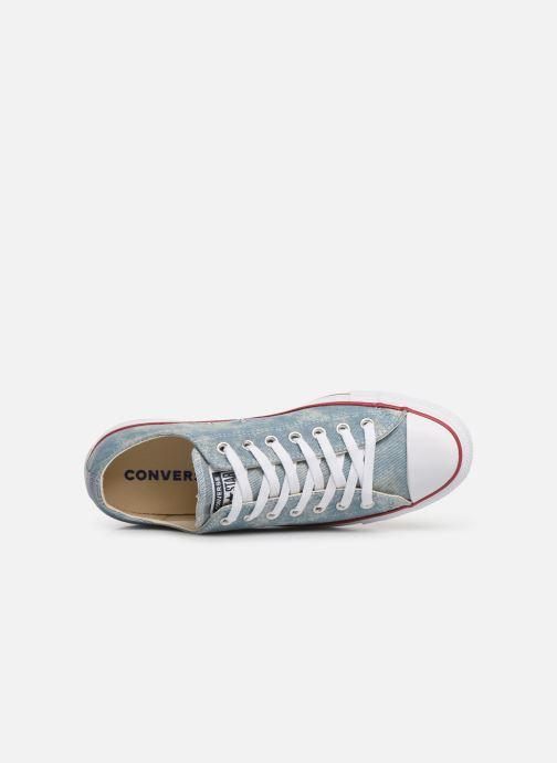Sneaker Converse Chuck Taylor All Star Worn In Ox blau ansicht von links
