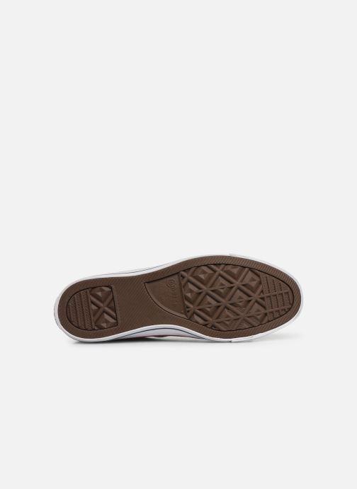 Sneaker Converse Chuck Taylor All Star Worn In Ox blau ansicht von oben