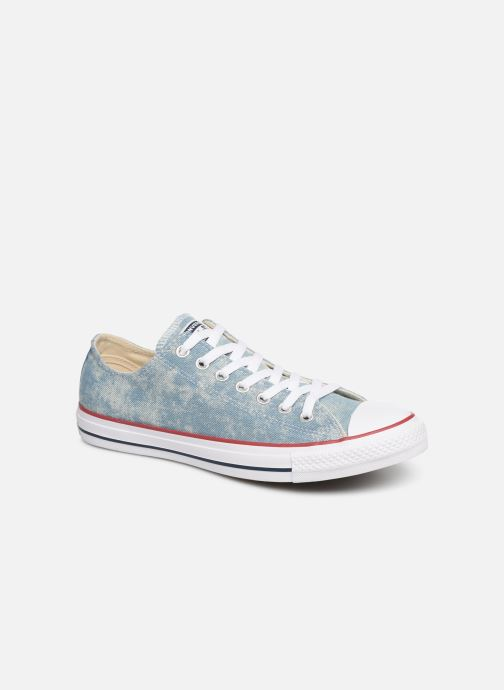 Sneaker Converse Chuck Taylor All Star Worn In Ox blau detaillierte ansicht/modell