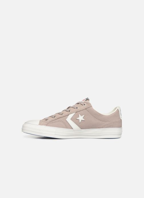 Sneakers Converse Star Player Canvas/Suede Ox Bruin voorkant