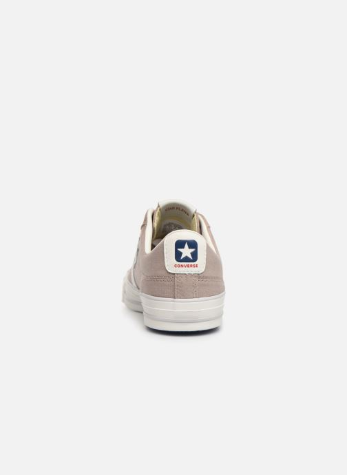 Sneakers Converse Star Player Canvas/Suede Ox Bruin rechts