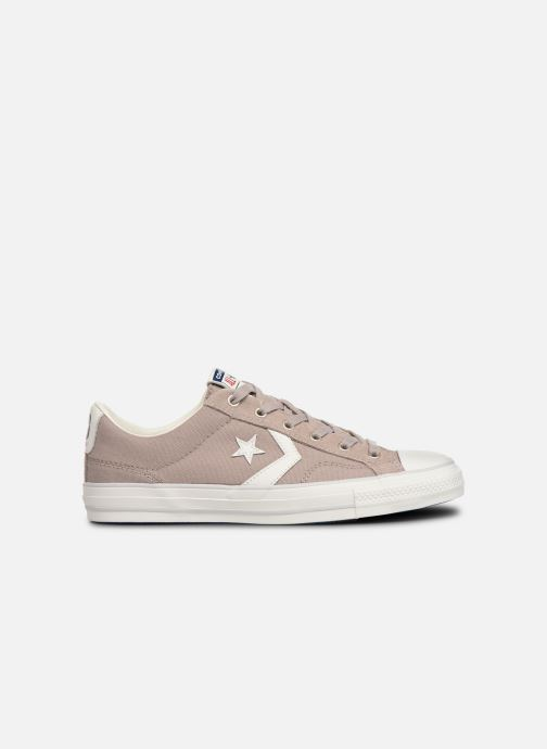 Sneakers Converse Star Player Canvas/Suede Ox Bruin achterkant