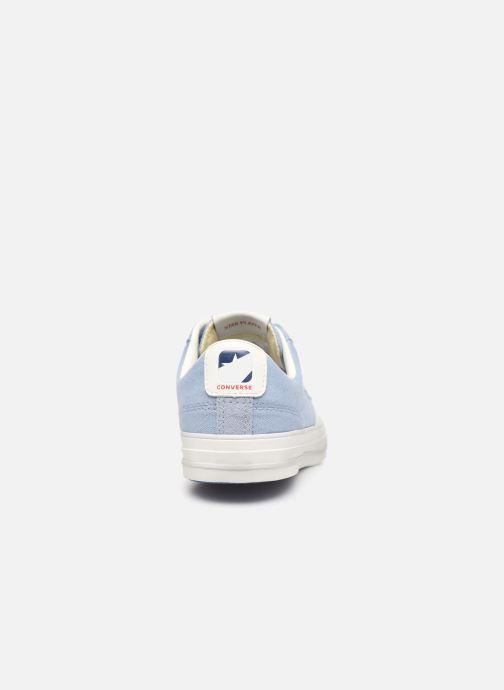 Sneaker Converse Star Player Canvas/Suede Ox blau ansicht von rechts