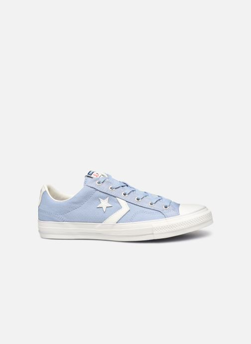 Sneakers Converse Star Player Canvas/Suede Ox Blauw achterkant