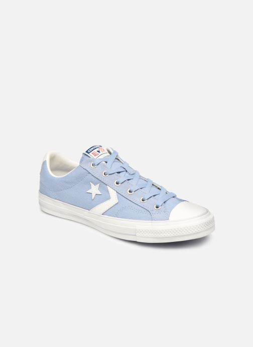 Sneaker Converse Star Player Canvas/Suede Ox blau detaillierte ansicht/modell