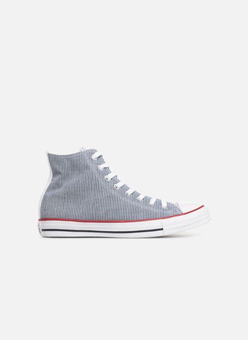 Sneakers Converse Chuck Taylor All Star Multi Stripes Hi Blauw achterkant