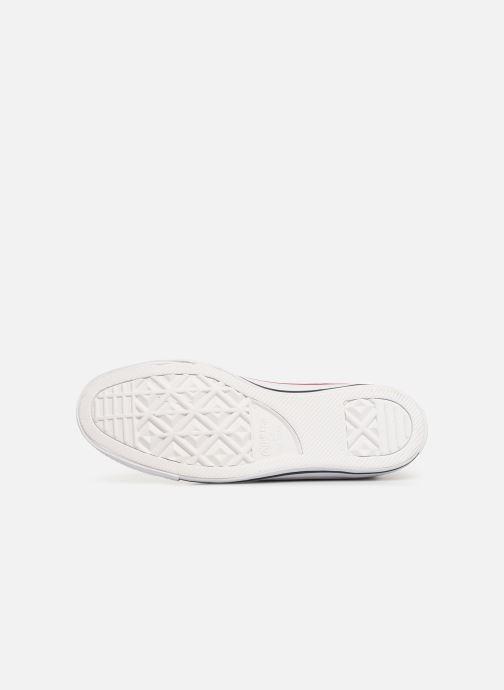 Sneakers Converse Chuck Taylor All Star Multi Stripes Hi Blauw boven