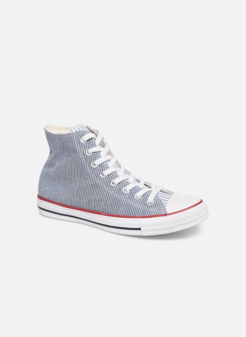 Sneakers Converse Chuck Taylor All Star Multi Stripes Hi Blauw detail