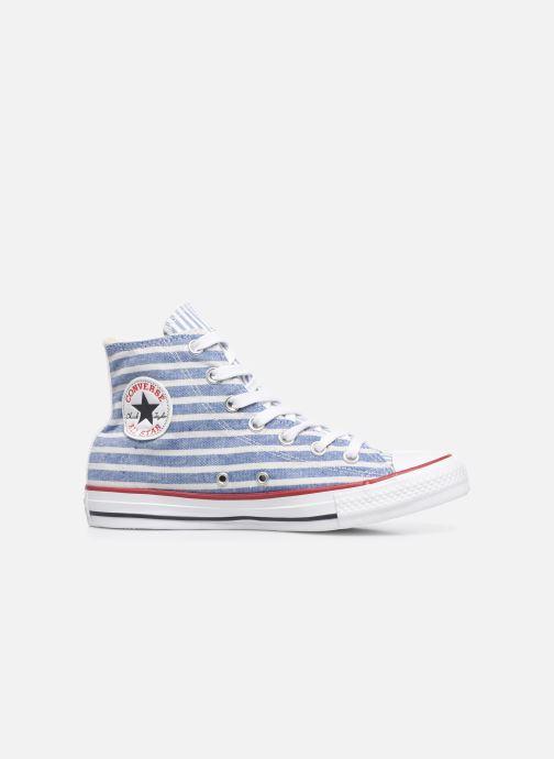 Deportivas Converse Chuck Taylor All Star Multi Stripes Hi W Azul vistra trasera
