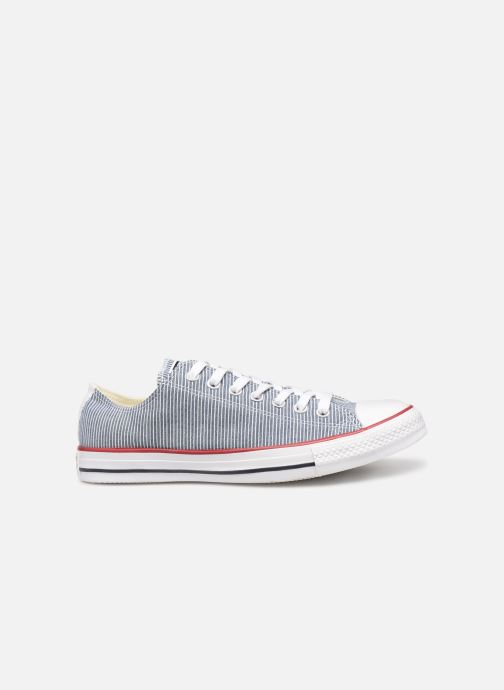 Trainers Converse Chuck Taylor All Star Stripes Ox Grey back view