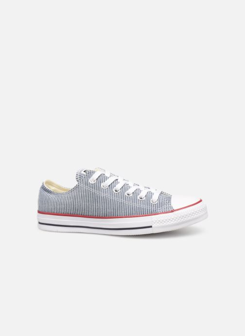 Sneakers Converse Chuck Taylor All Star Stripes Ox W Blauw achterkant