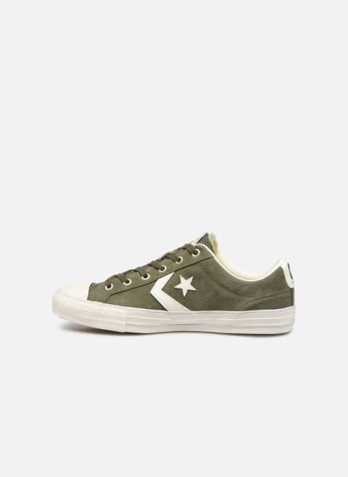 Sneakers Converse Star Player Suede Ox Groen voorkant