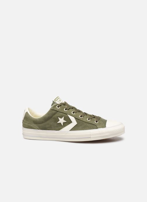 Trainers Converse Star Player Suede Ox Green back view