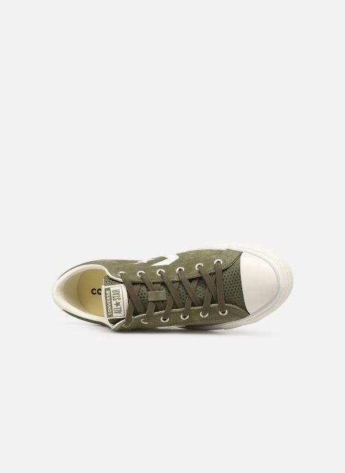 Sneakers Converse Star Player Suede Ox Groen links