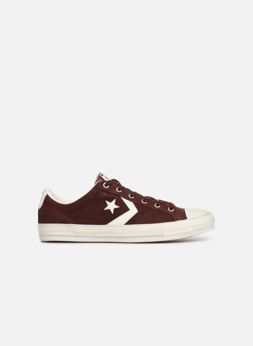 Trainers Converse Star Player Suede Ox Brown back view